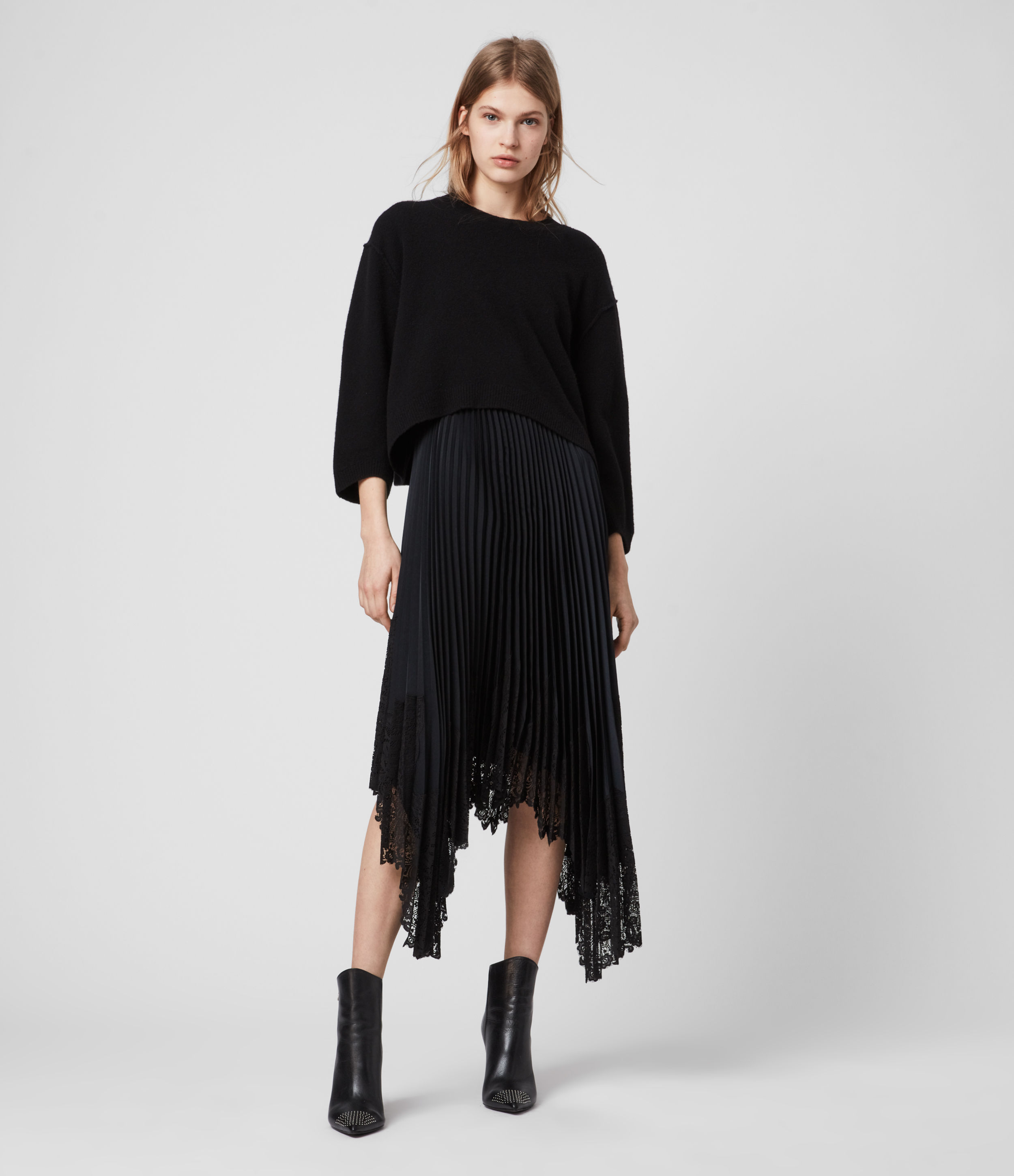 AllSaints Aspyn 2-in-1 Dress