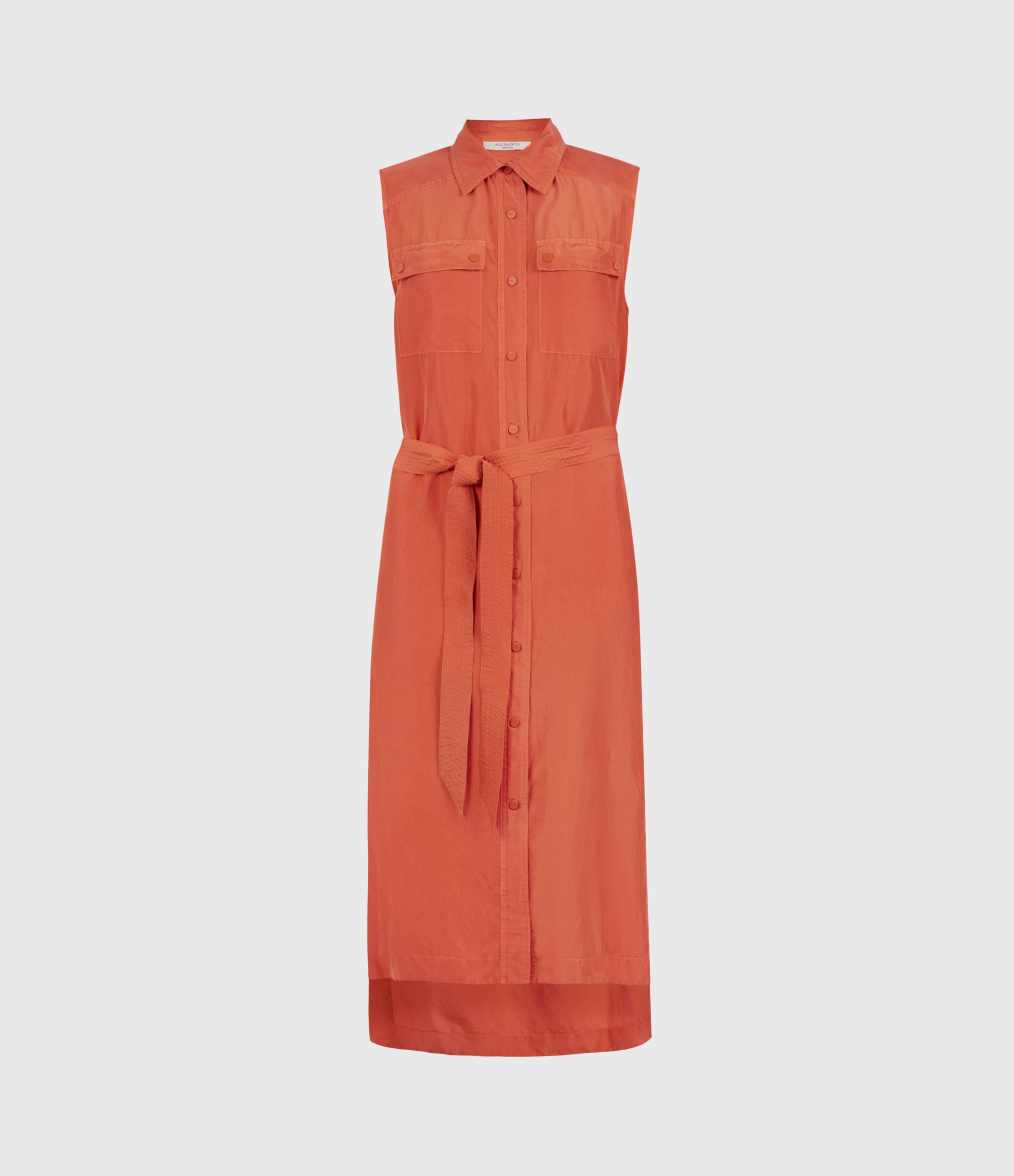 AllSaints Esthie Silk Dress