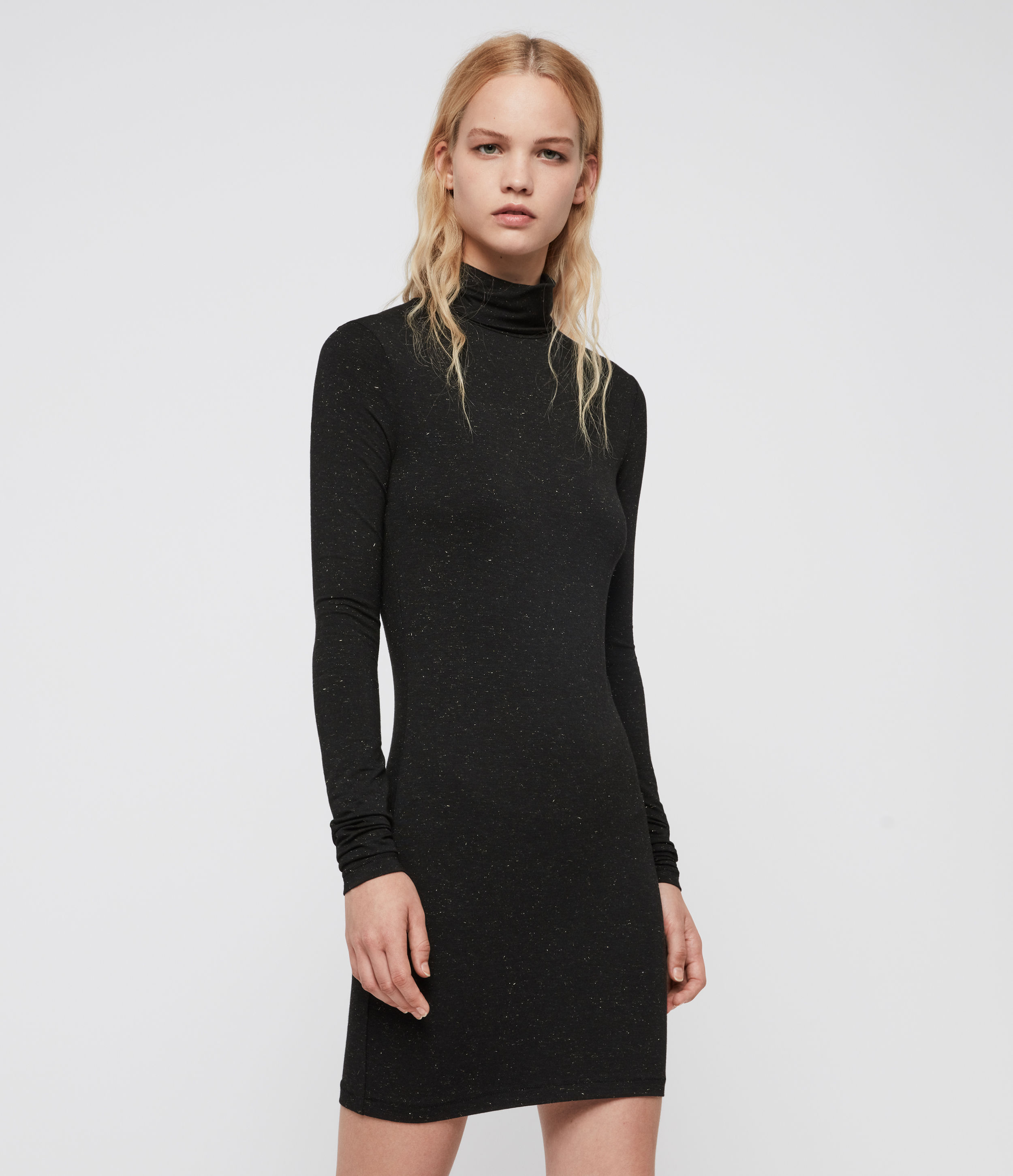 AllSaints Esme Shimmer Dress
