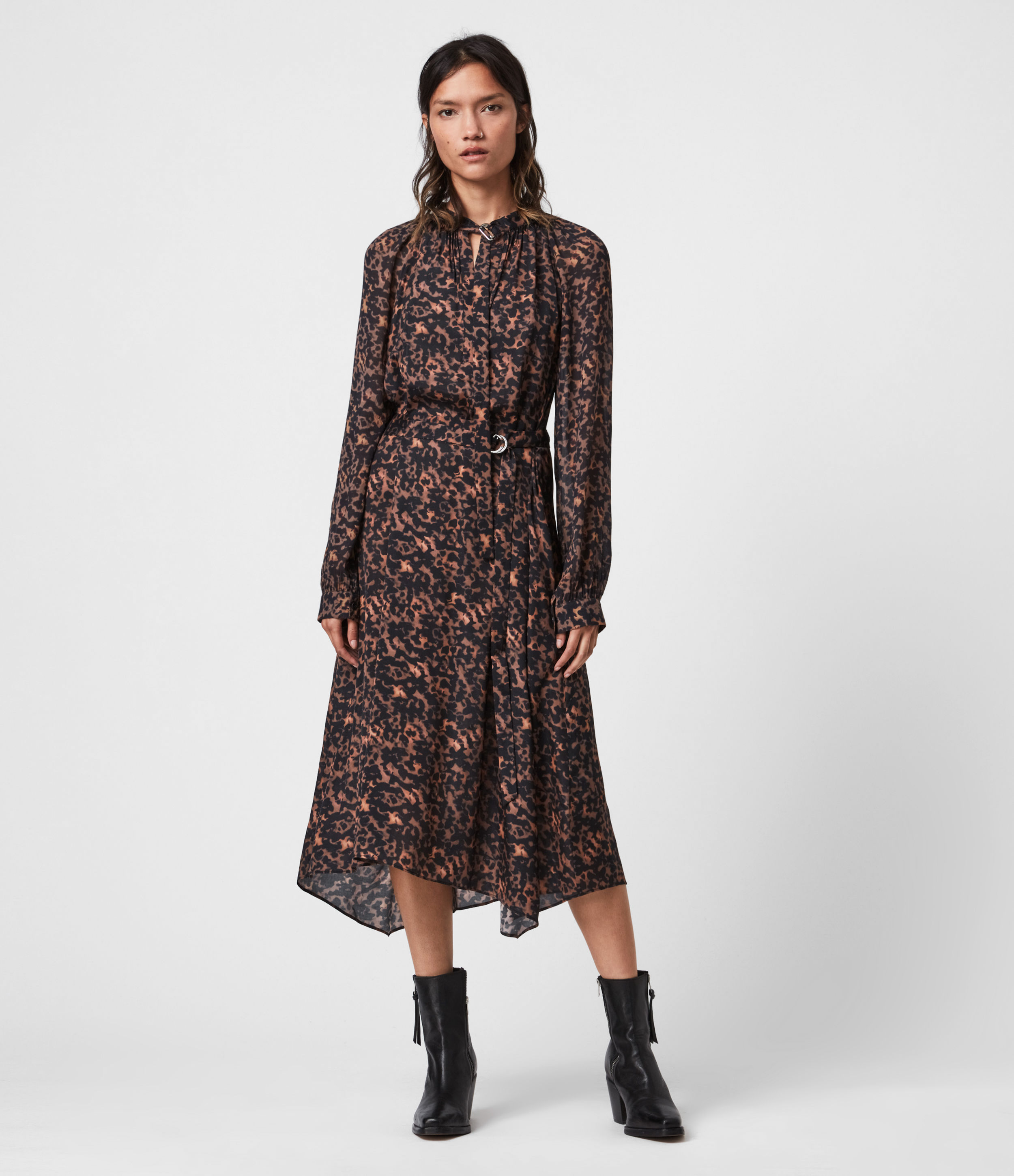 AllSaints Nina Torto Dress