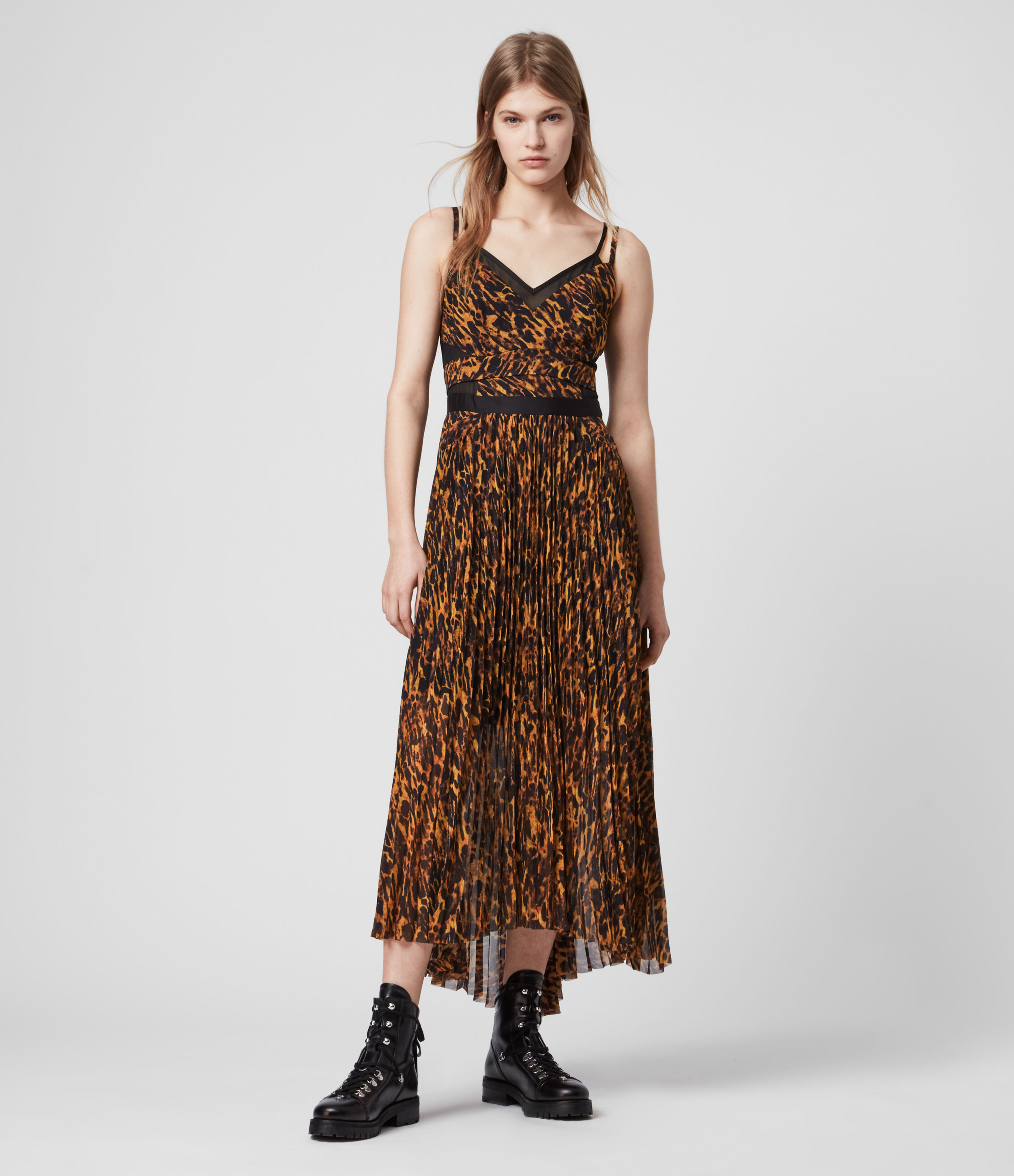 AllSaints Cora Ambient Dress