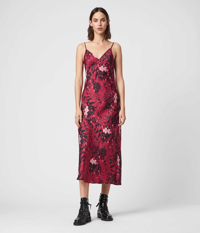 AllSaints Tierny Wing 2-in-1 Dress
