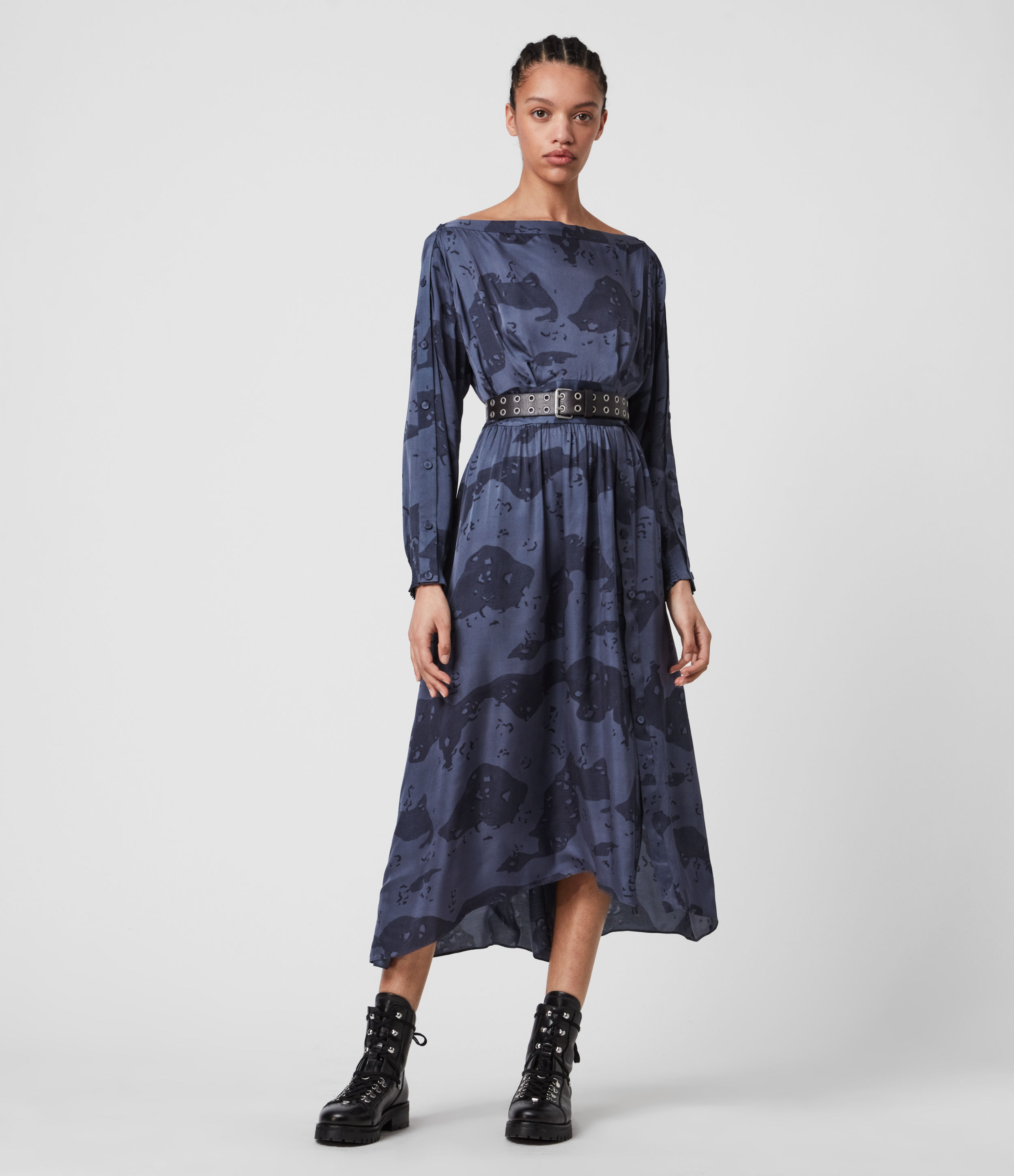 AllSaints Faustin Acoustic Dress