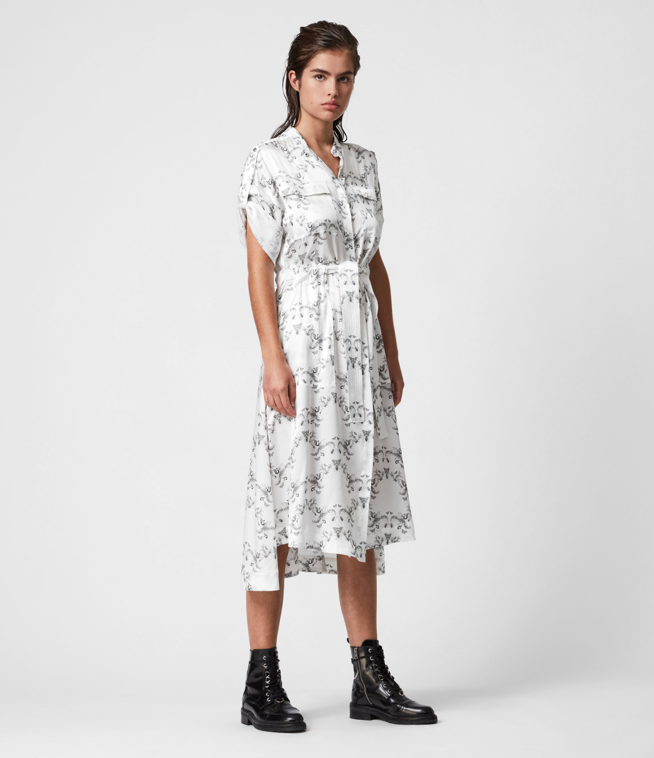 AllSaints Luciana Assam Dress