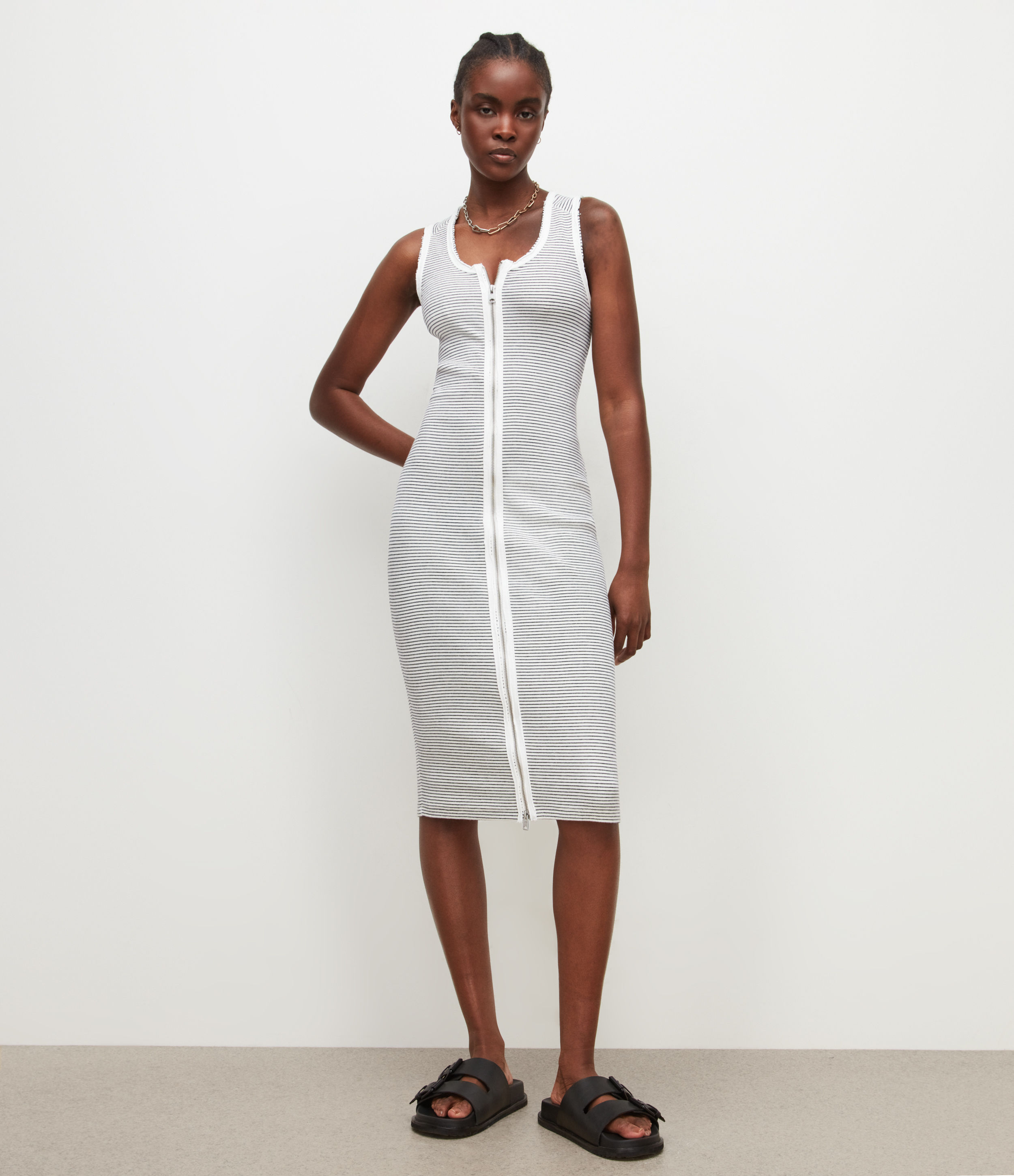 AllSaints Alicia Stripe Dress