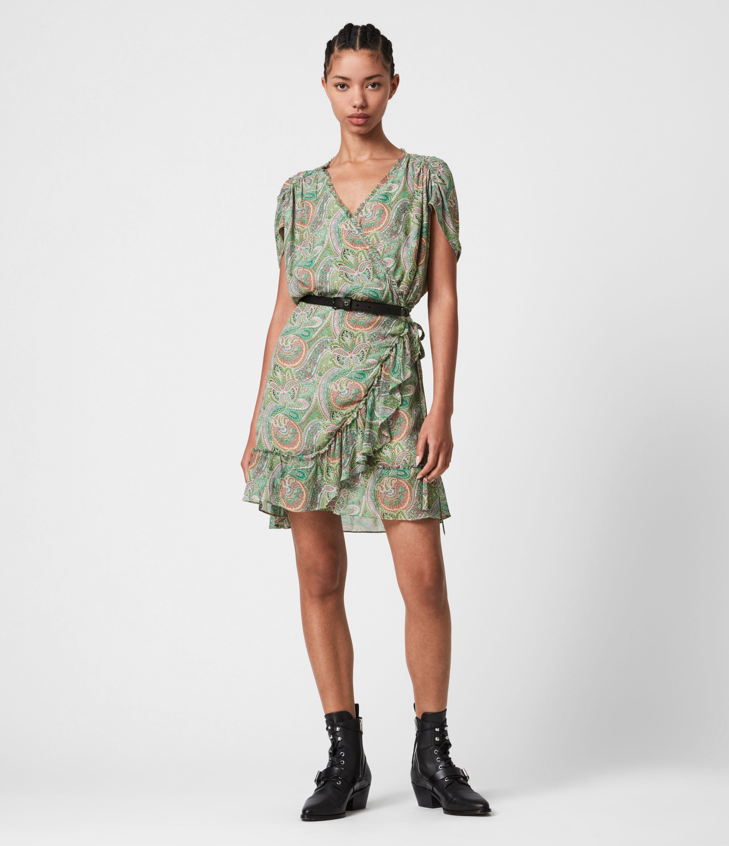 AllSaints Zini Shahmina Dress