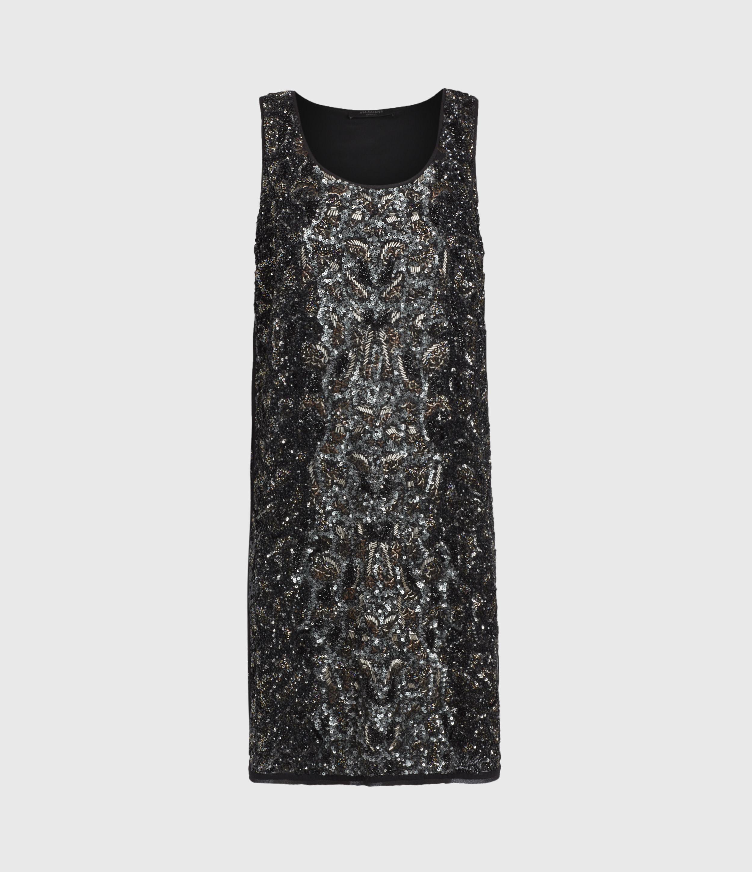 AllSaints Brellie Embellished Dress