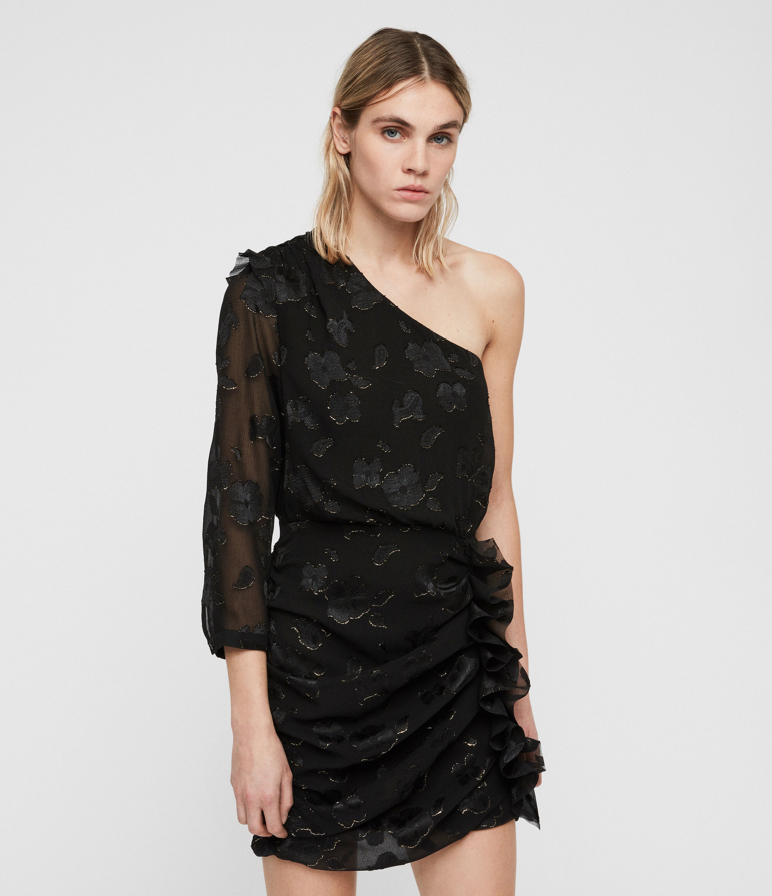 AllSaints Maddie Flora Dress