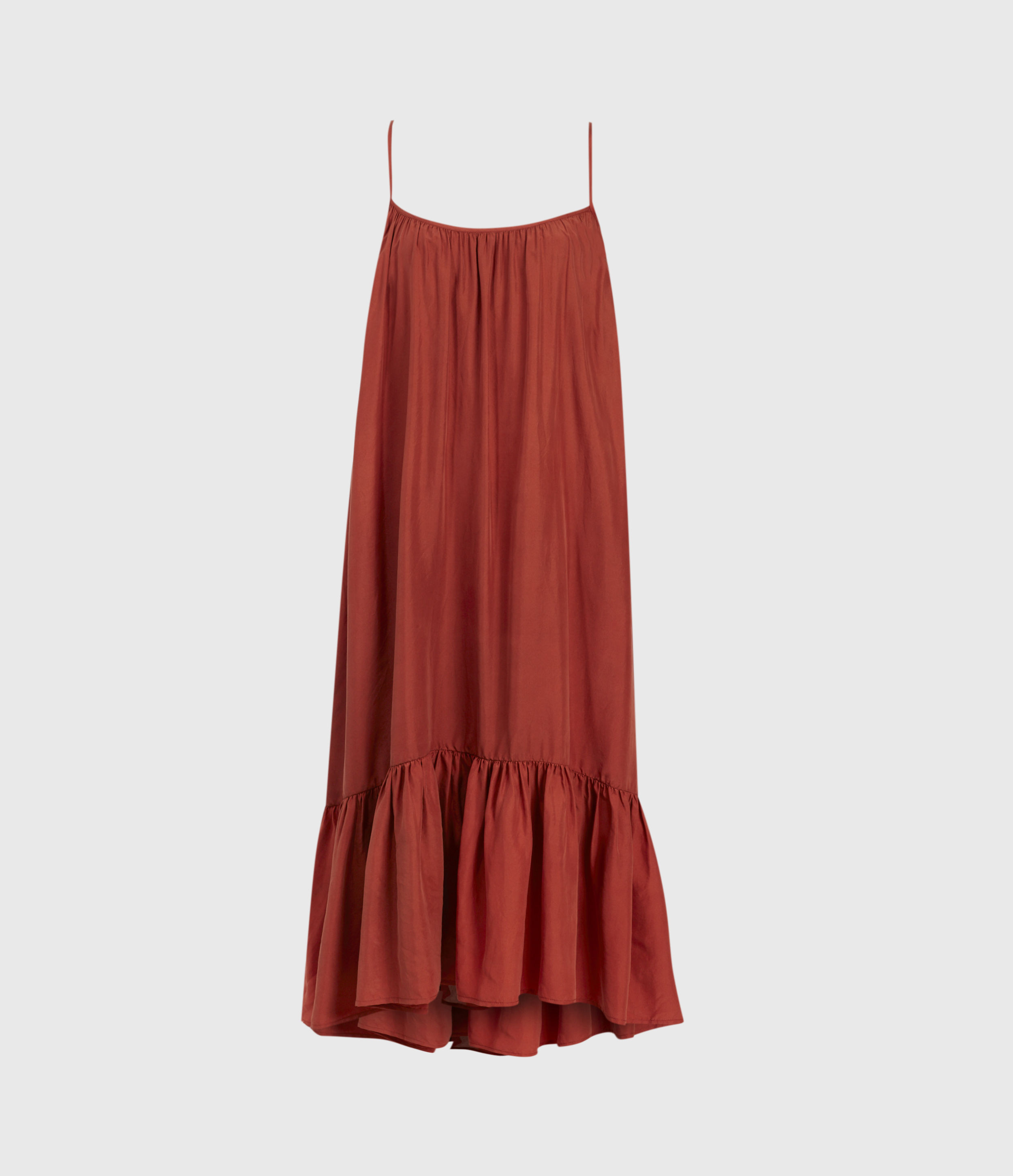AllSaints Paola Silk Dress
