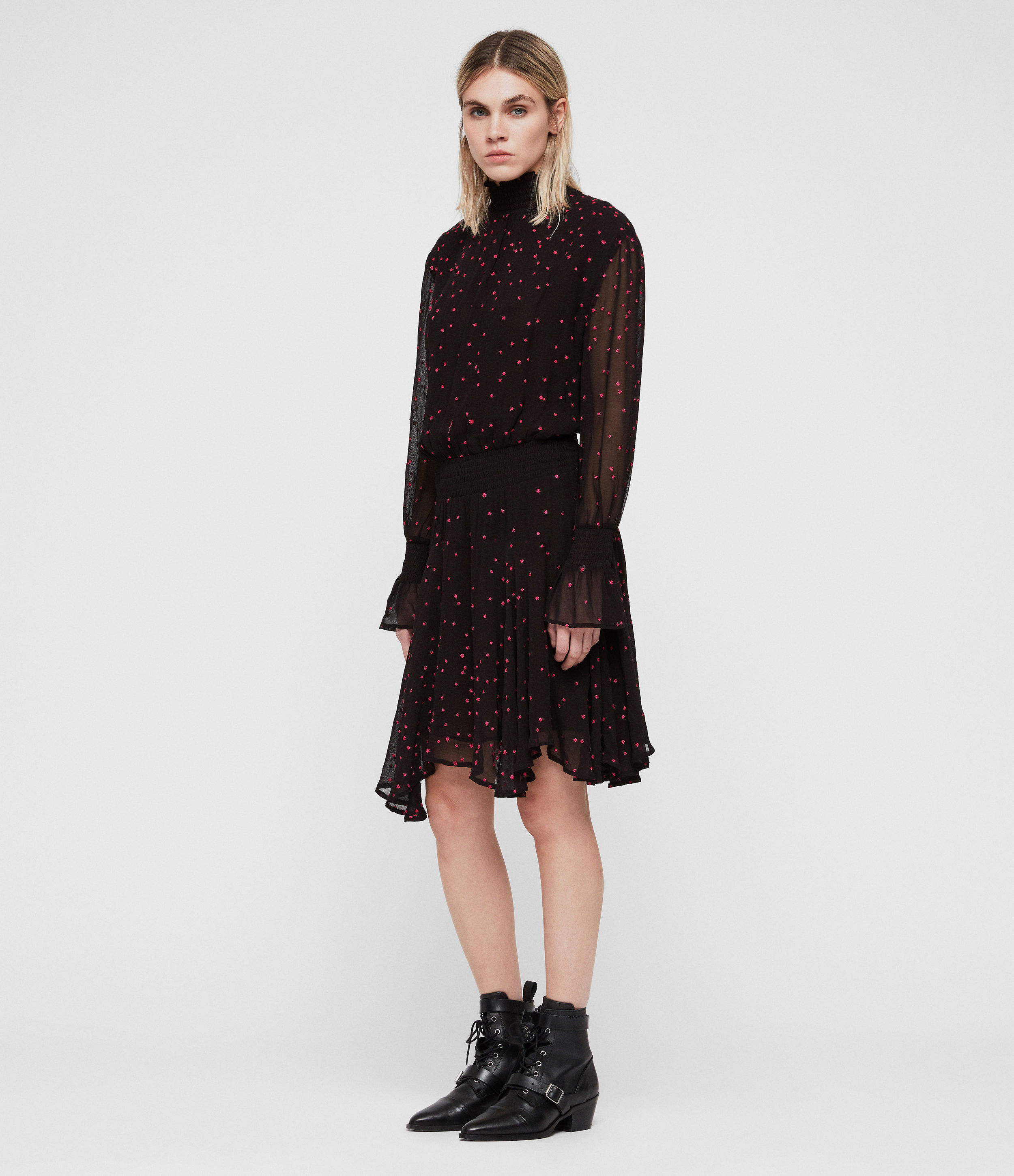 AllSaints Ria Nala Dress
