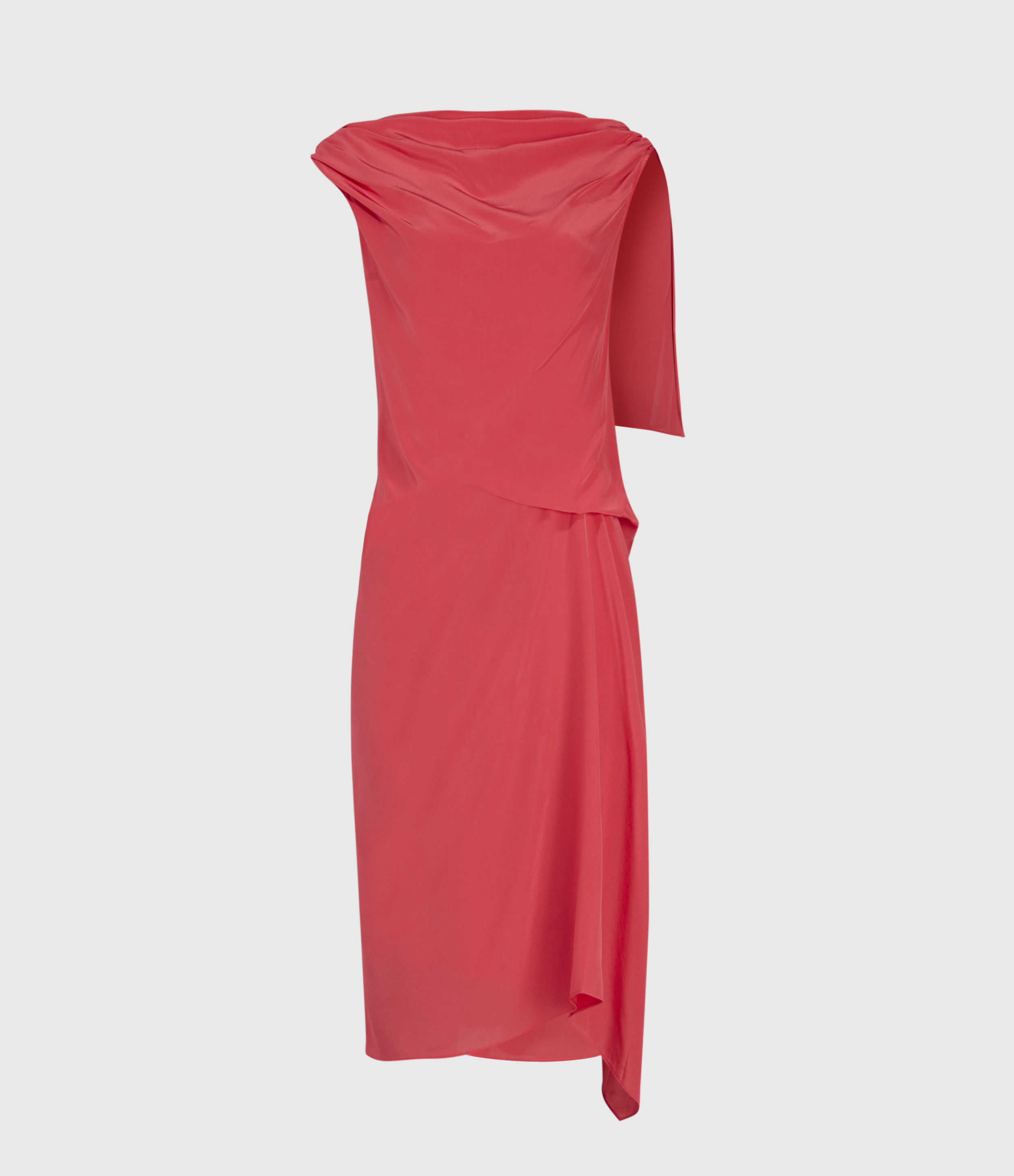 AllSaints Foy Silk Dress