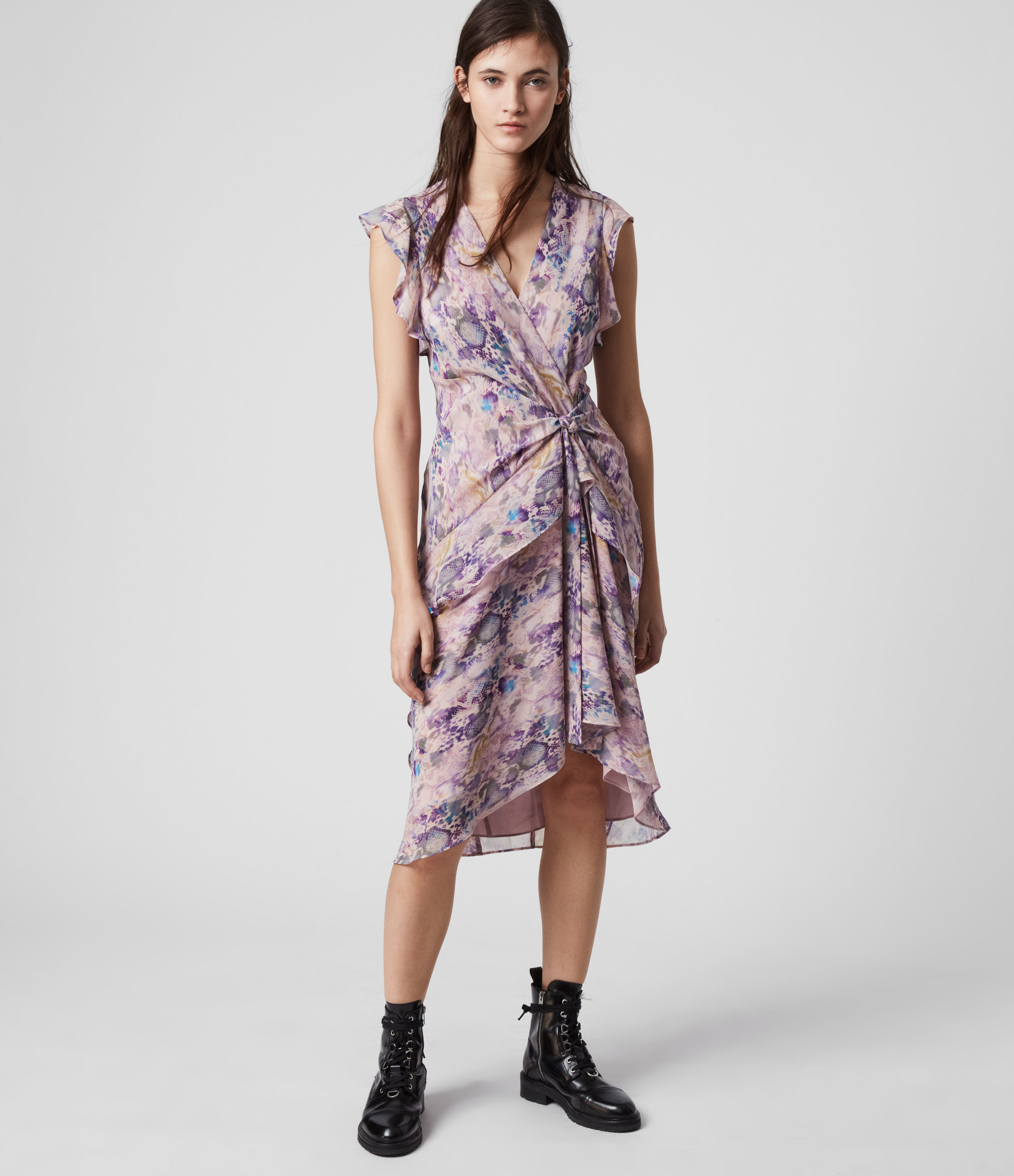 AllSaints Reila Masala Dress