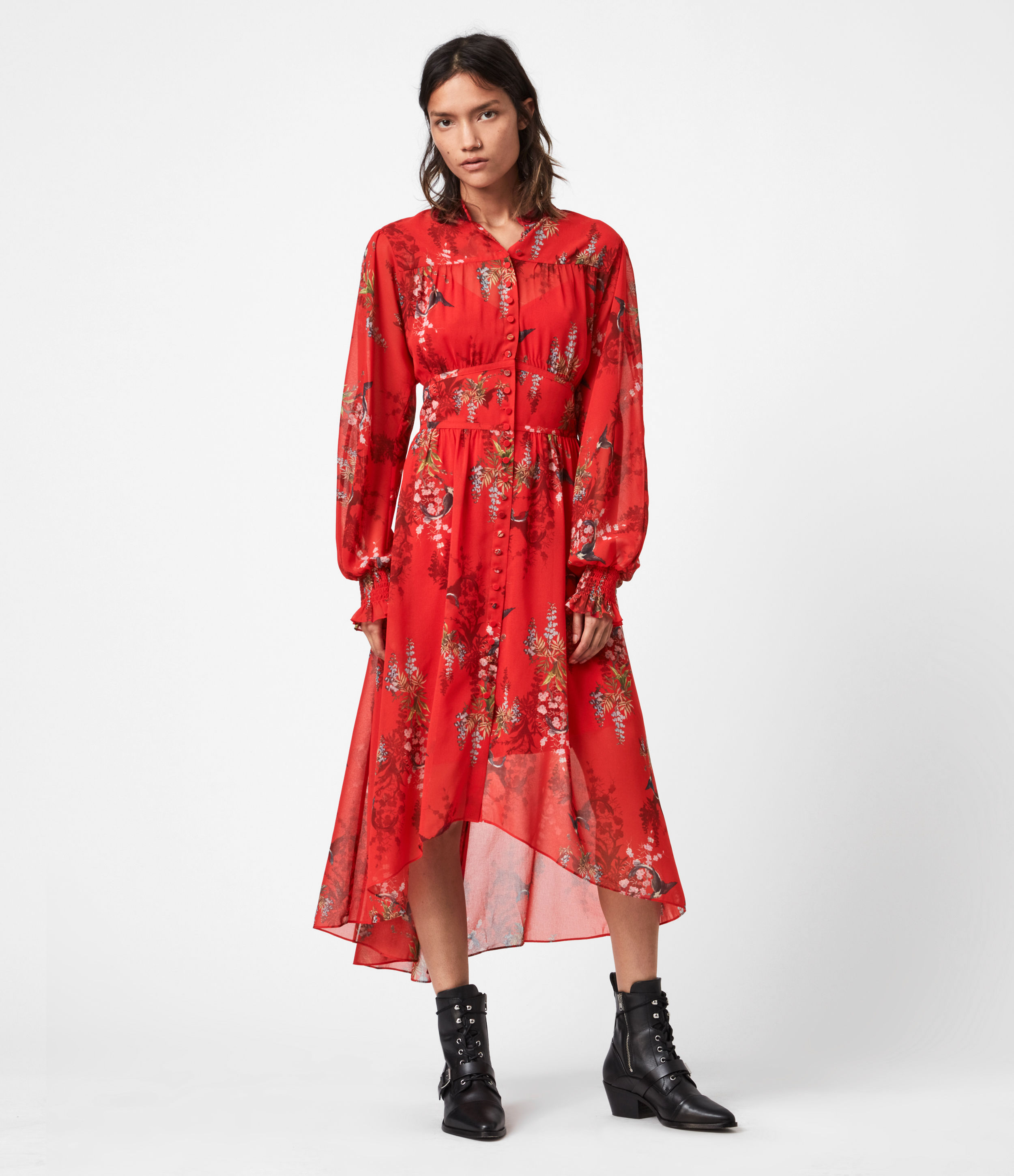 AllSaints Leonie Melisma Dress