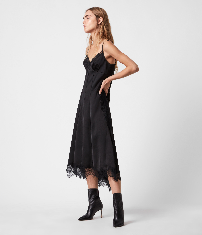 AllSaints Lalita Slip Dress