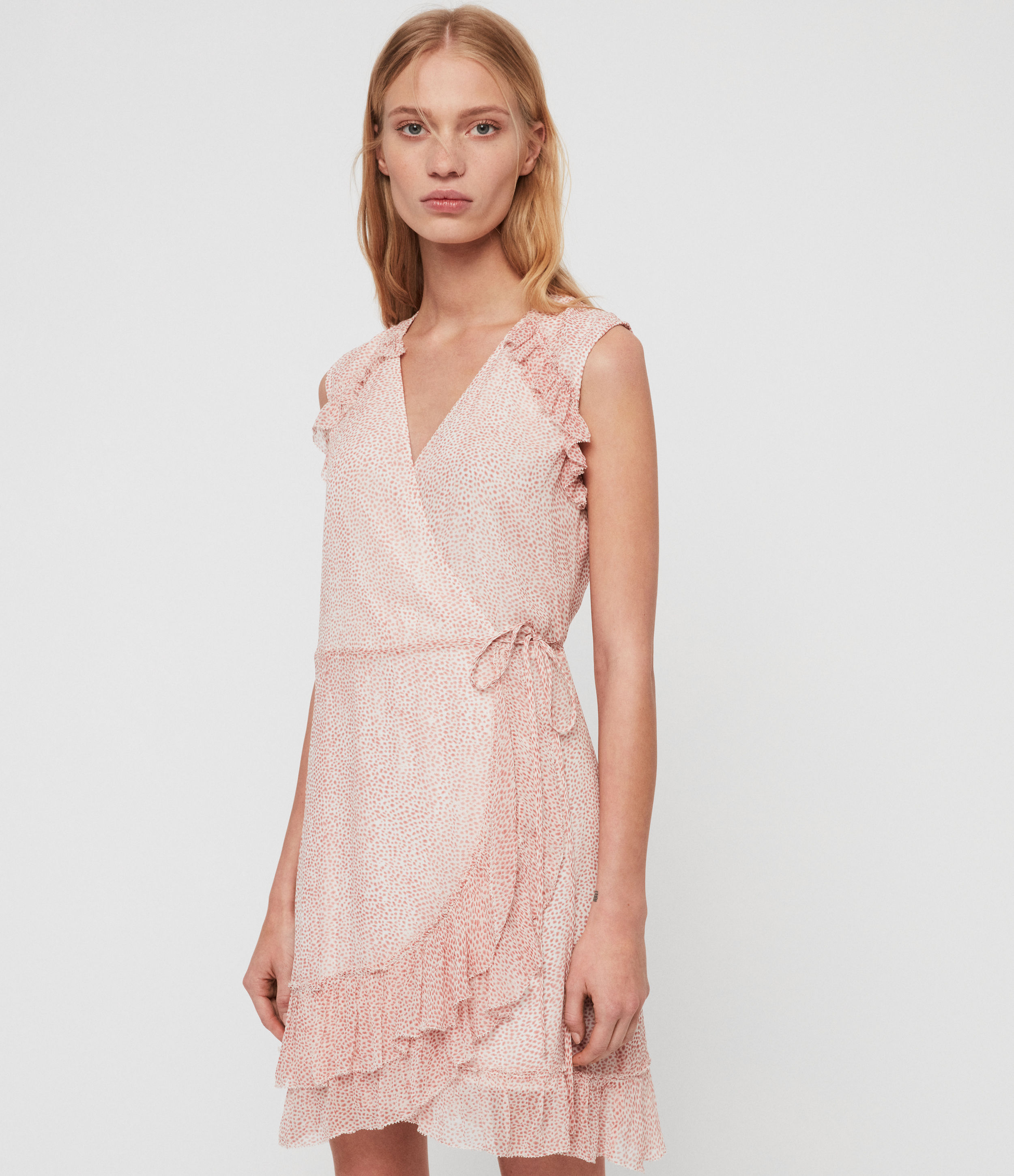 AllSaints Priya Leox Dress