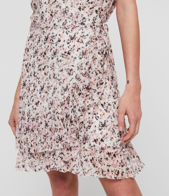 AllSaints Priya Freefall Dress
