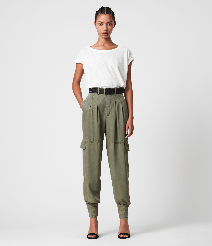 AllSaints Paxton High-Rise Trousers