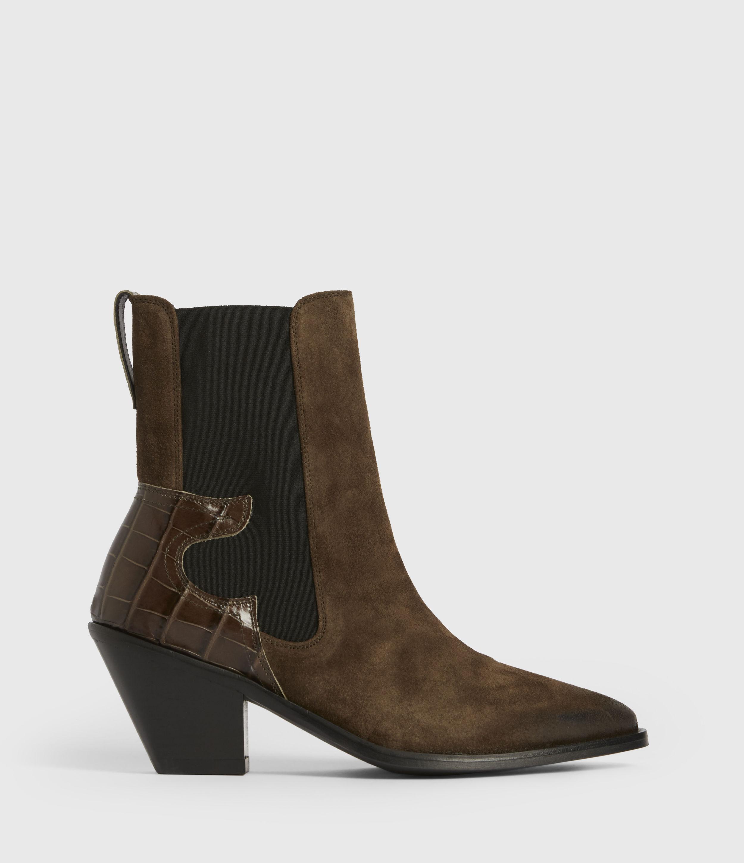 AllSaints Sara Suede Boots