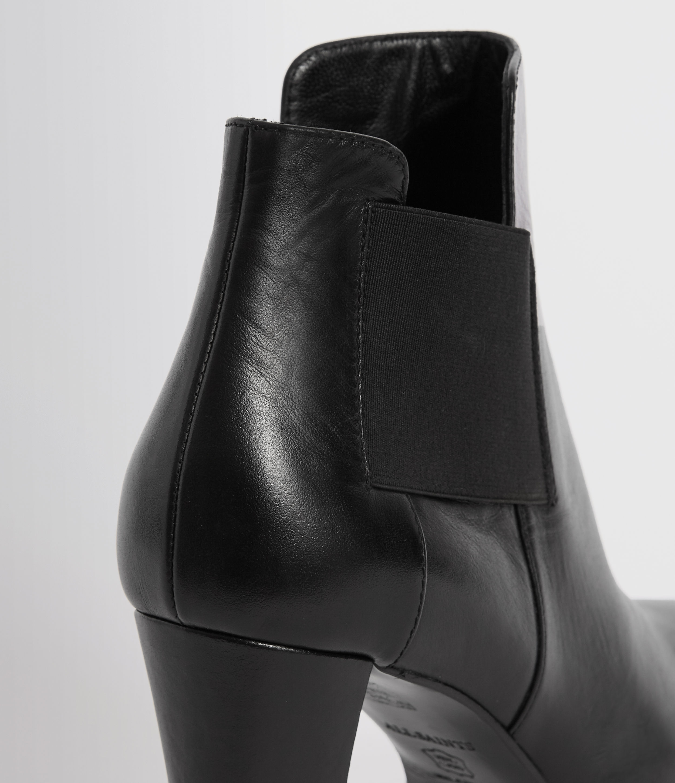 AllSaints Sarris Leather Chelsea Boots