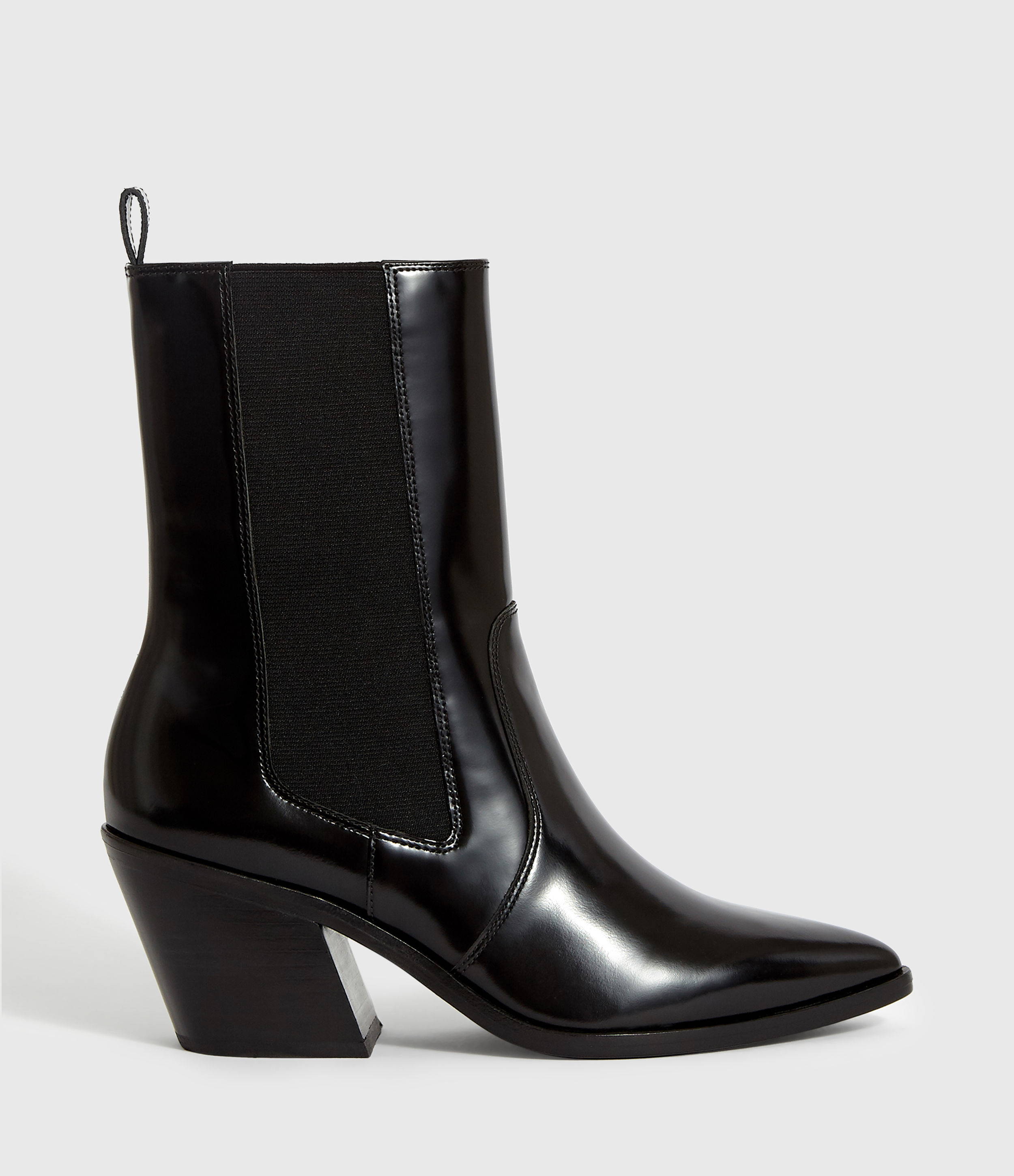 AllSaints Womens Carolina Boot, Black, Size: UK 5/US 7/EU 38