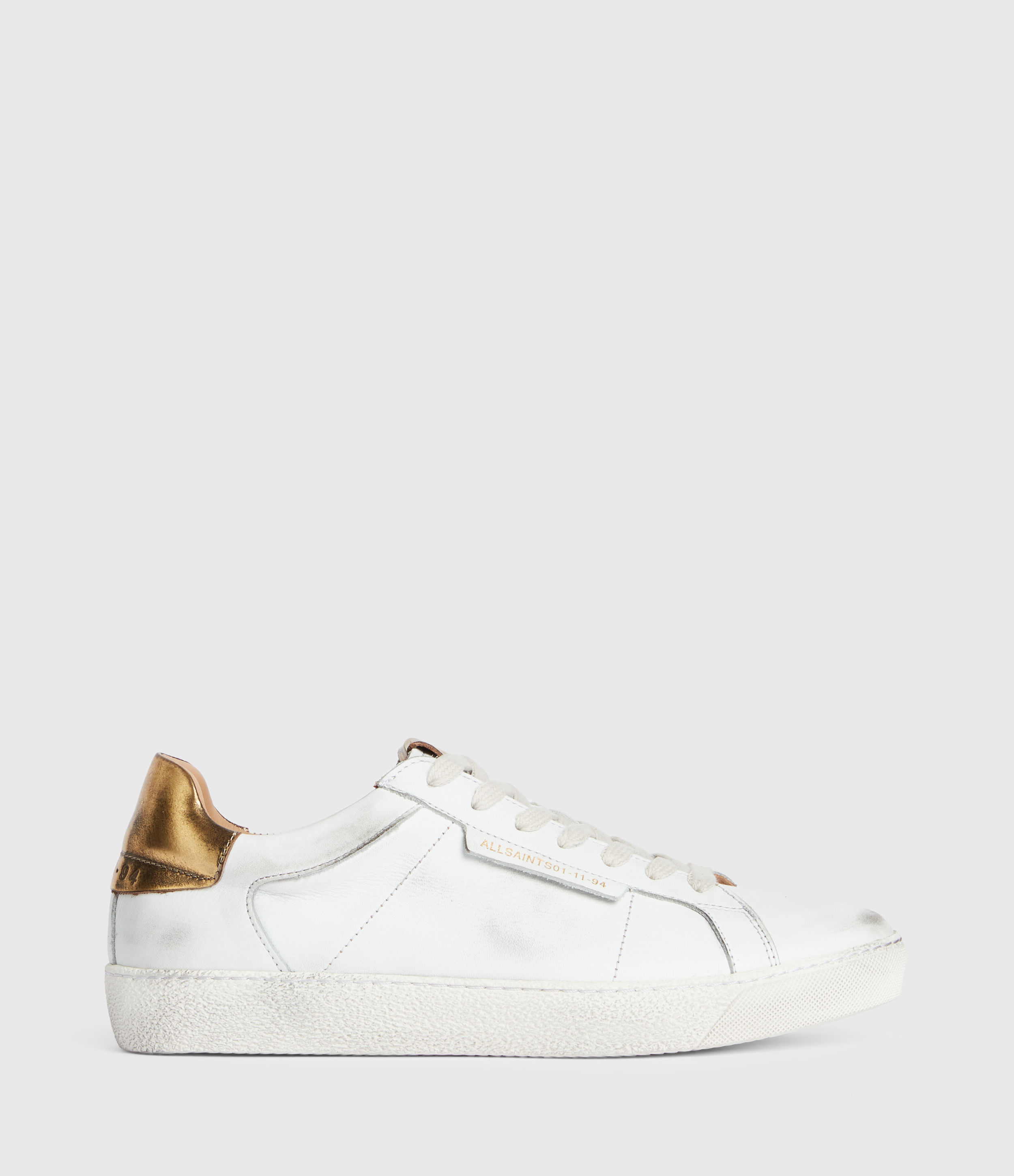 AllSaints Sheer Low Top Leather Trainers