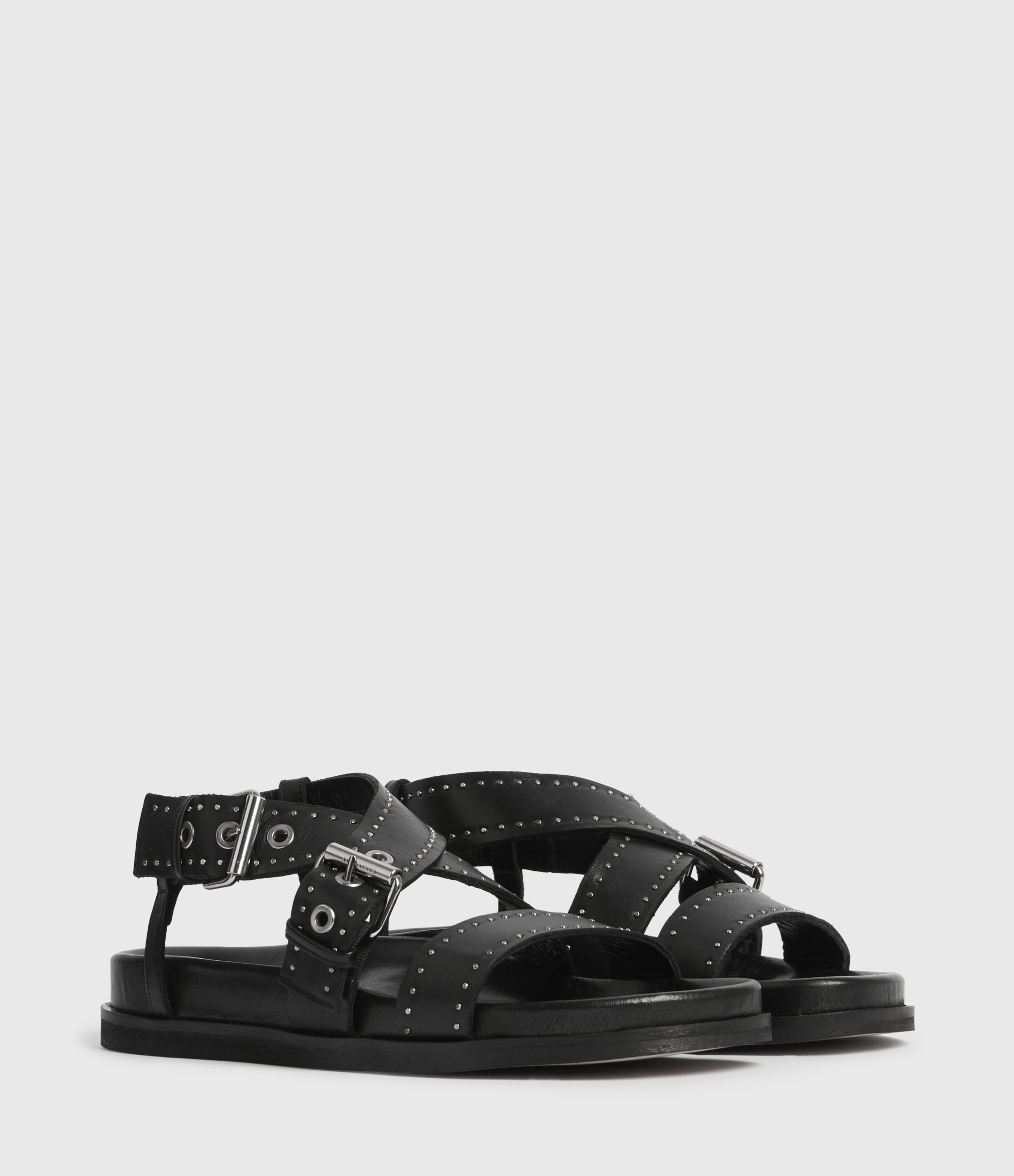 AllSaints Nina Leather Sandals