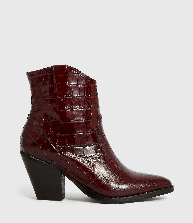 AllSaints Rolene Crocodile Boot