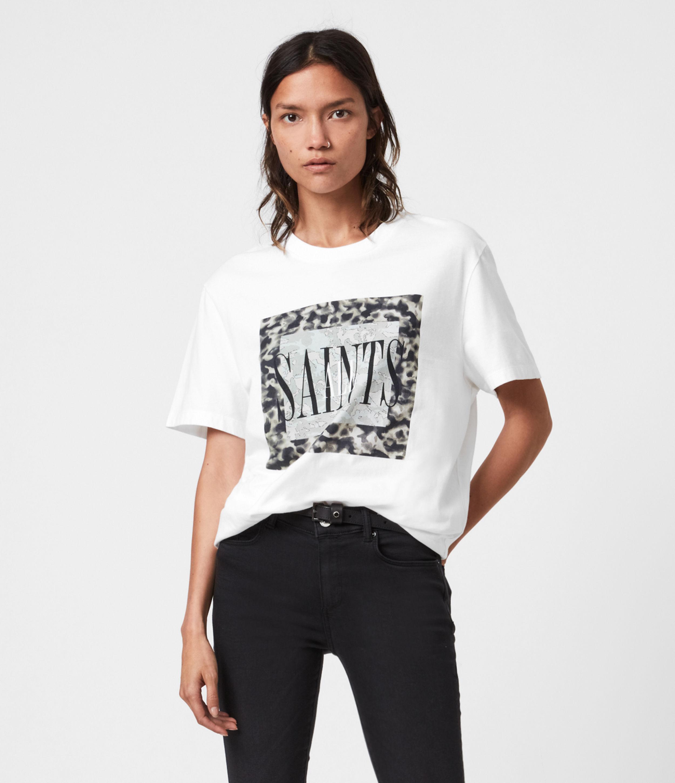 AllSaints Tortell Boyfriend T-Shirt