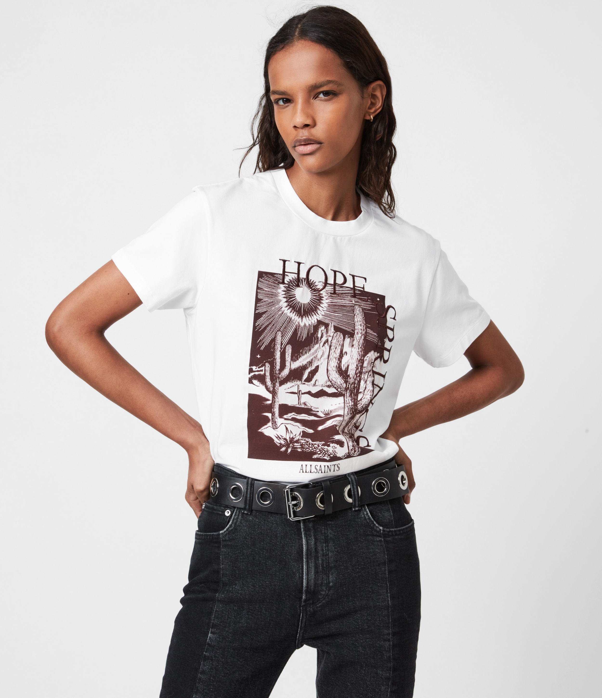 AllSaints Cacti Boyfriend T-Shirt