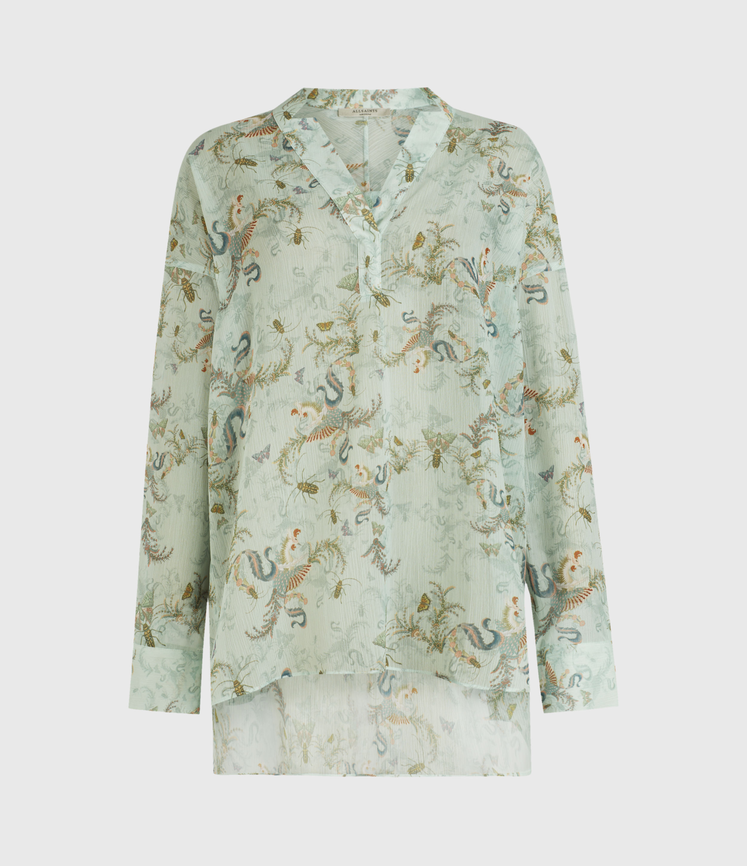 AllSaints Andia Assam Shirt