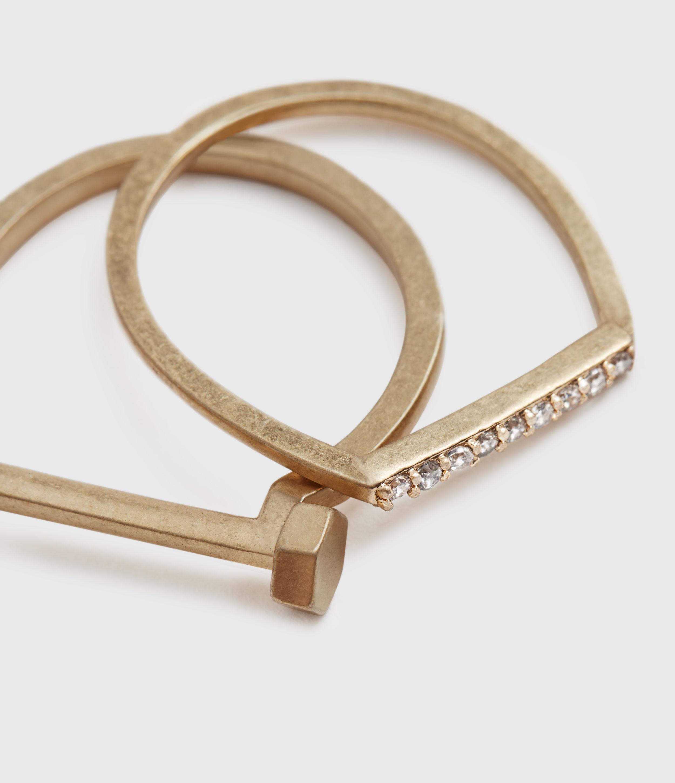 AllSaints Celestial Ring Set
