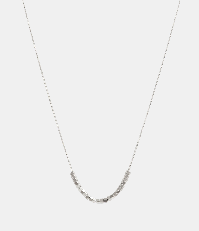 AllSaints Amur Silver-Tone Necklace