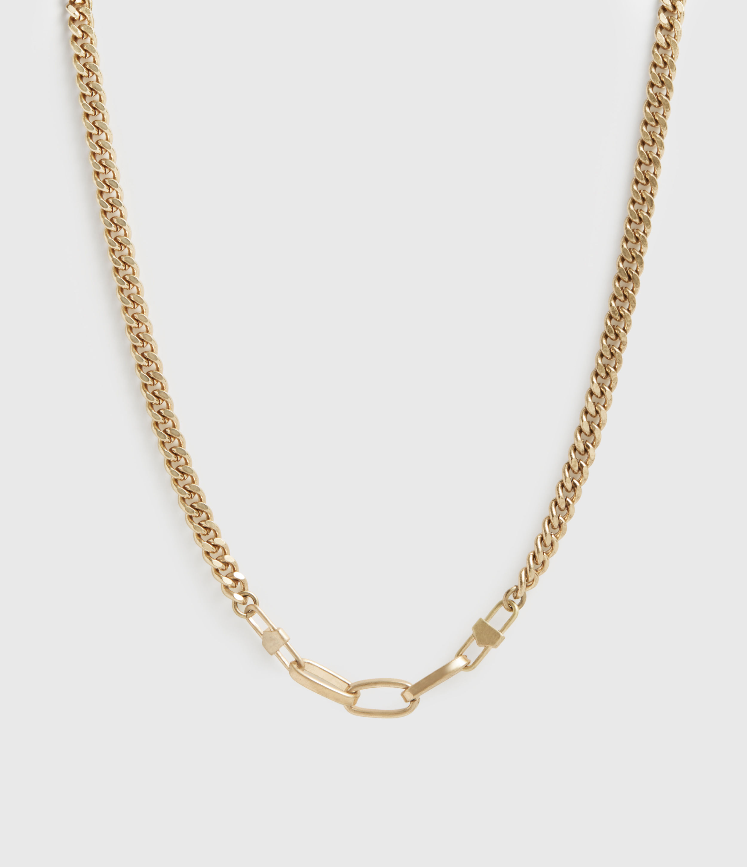 AllSaints Katun Gold-Tone Necklace