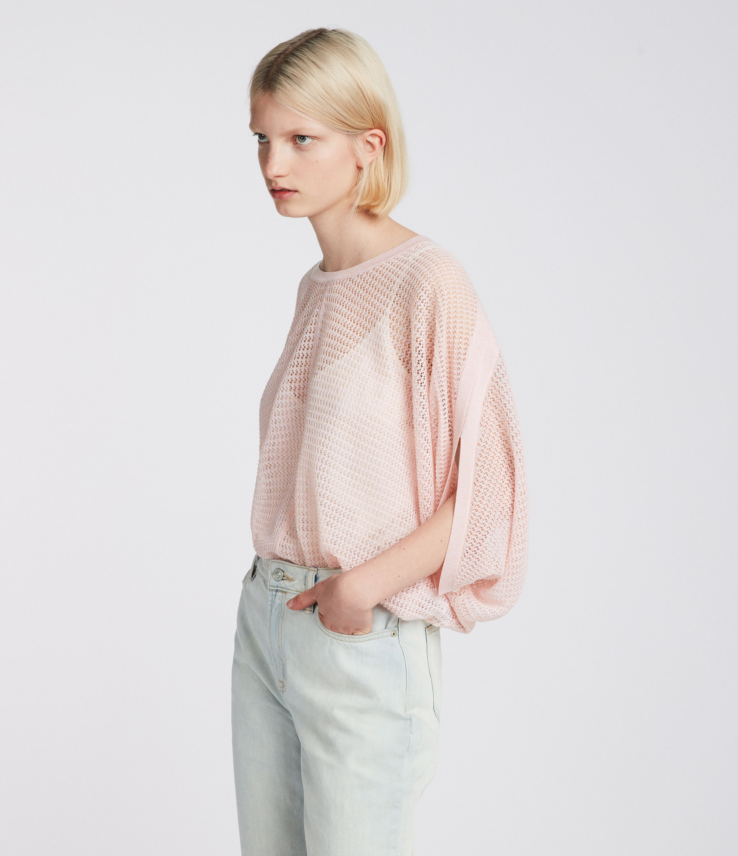 AllSaints Levita Knit Top
