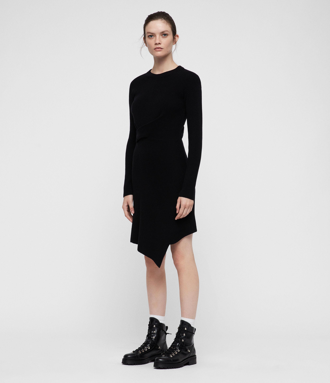 AllSaints Krista Cashmere Blend Dress