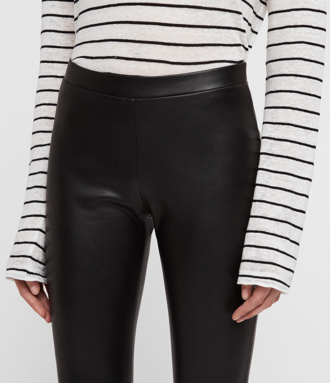 AllSaints Women's Isla Leggings, Black, Size: UK 2/US 00
