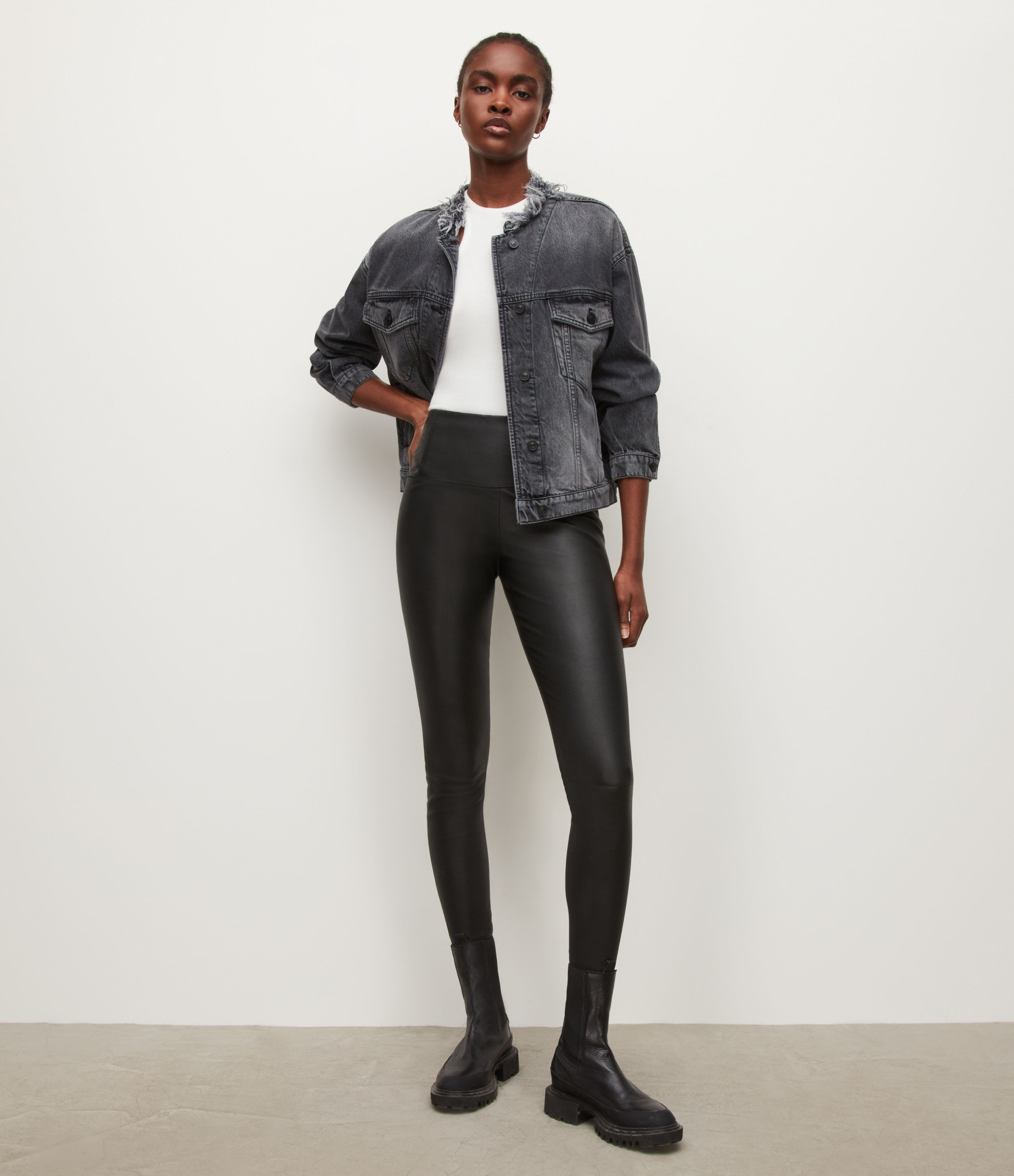 AllSaints Cora High-Rise Leggings