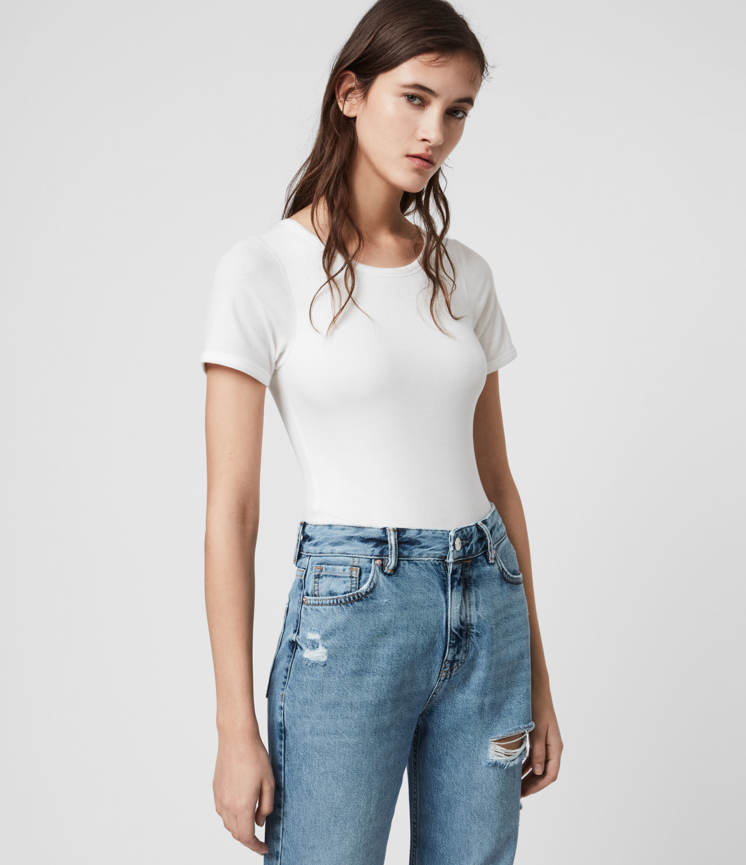 AllSaints Nino Short Sleeve Bodysuit