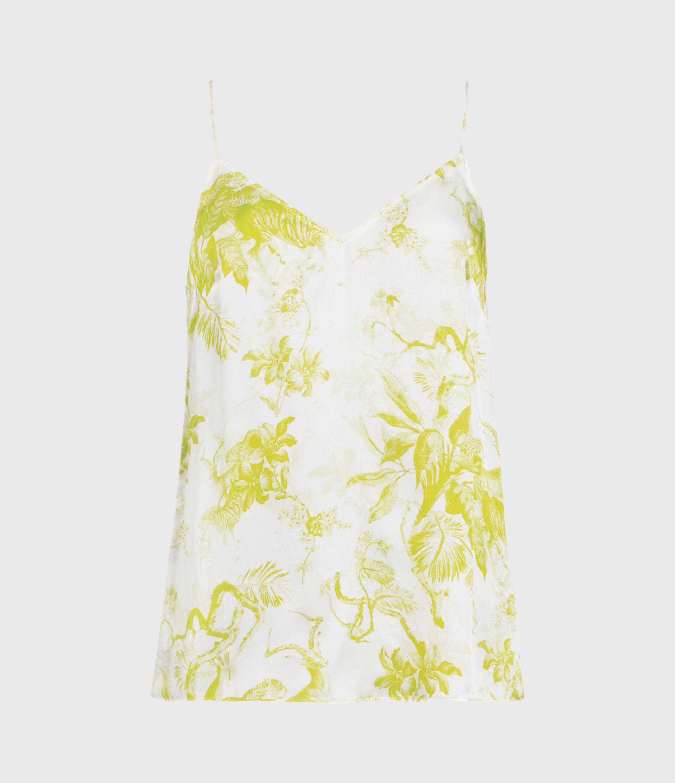 AllSaints Tami Riyaz Silk Blend Top