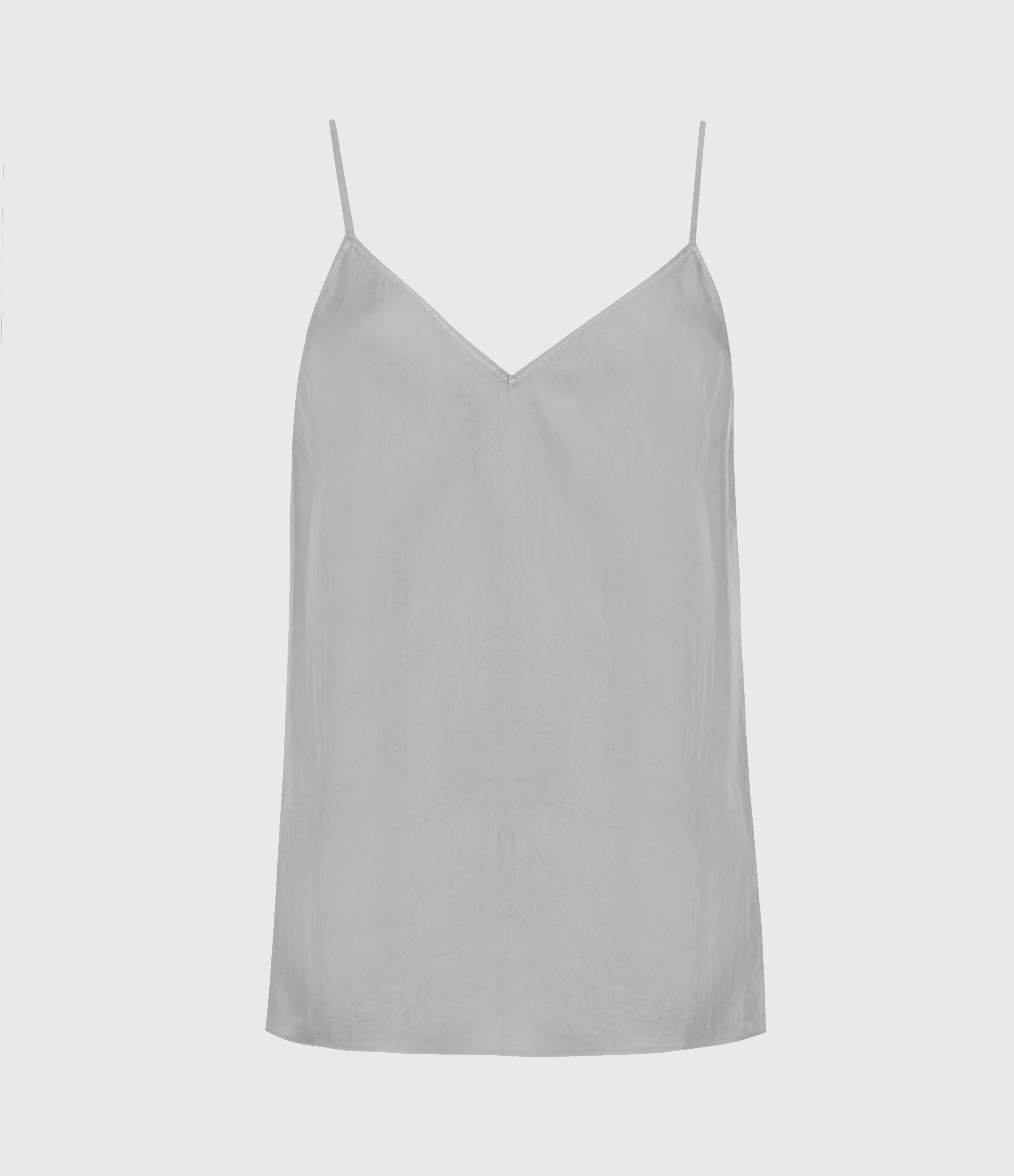 AllSaints Women's Tami Top, Muted Grey, Size: 2