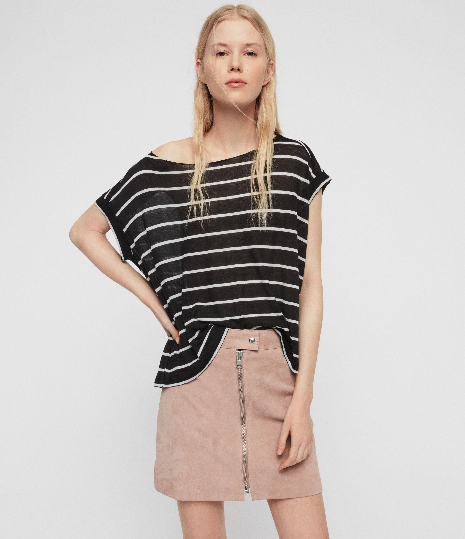 AllSaints Pina Stripe T-Shirt