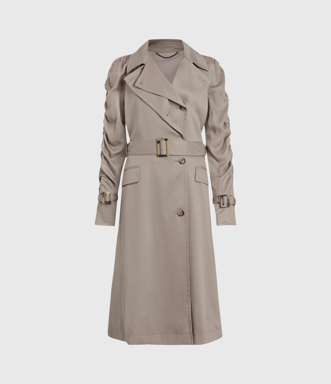 AllSaints Cecil Trench Coat
