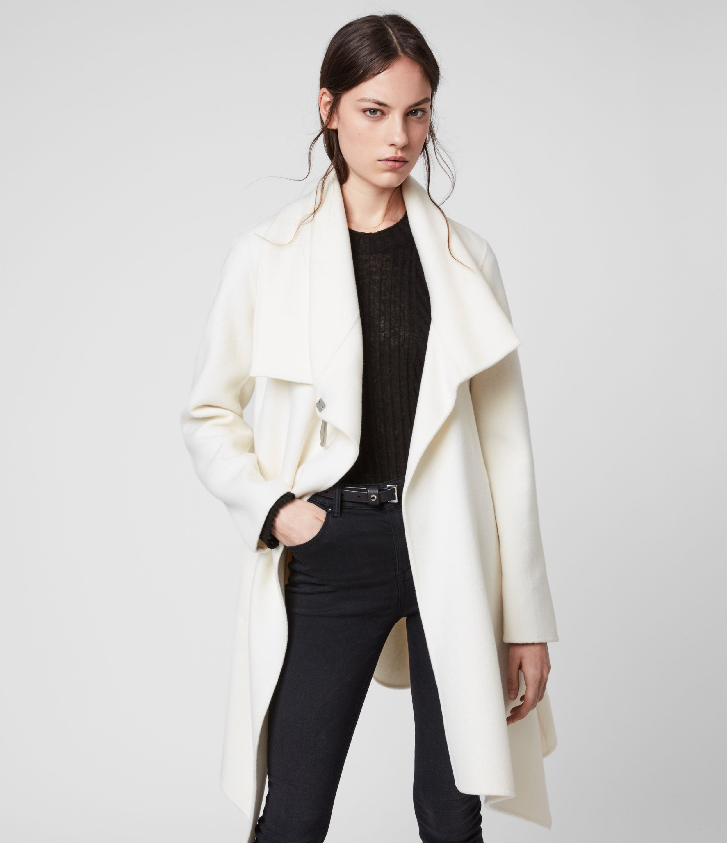 AllSaints Monument Eve Coat