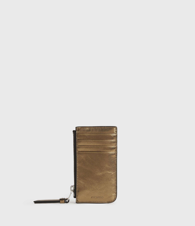 AllSaints Marlborough Leather Cardholder