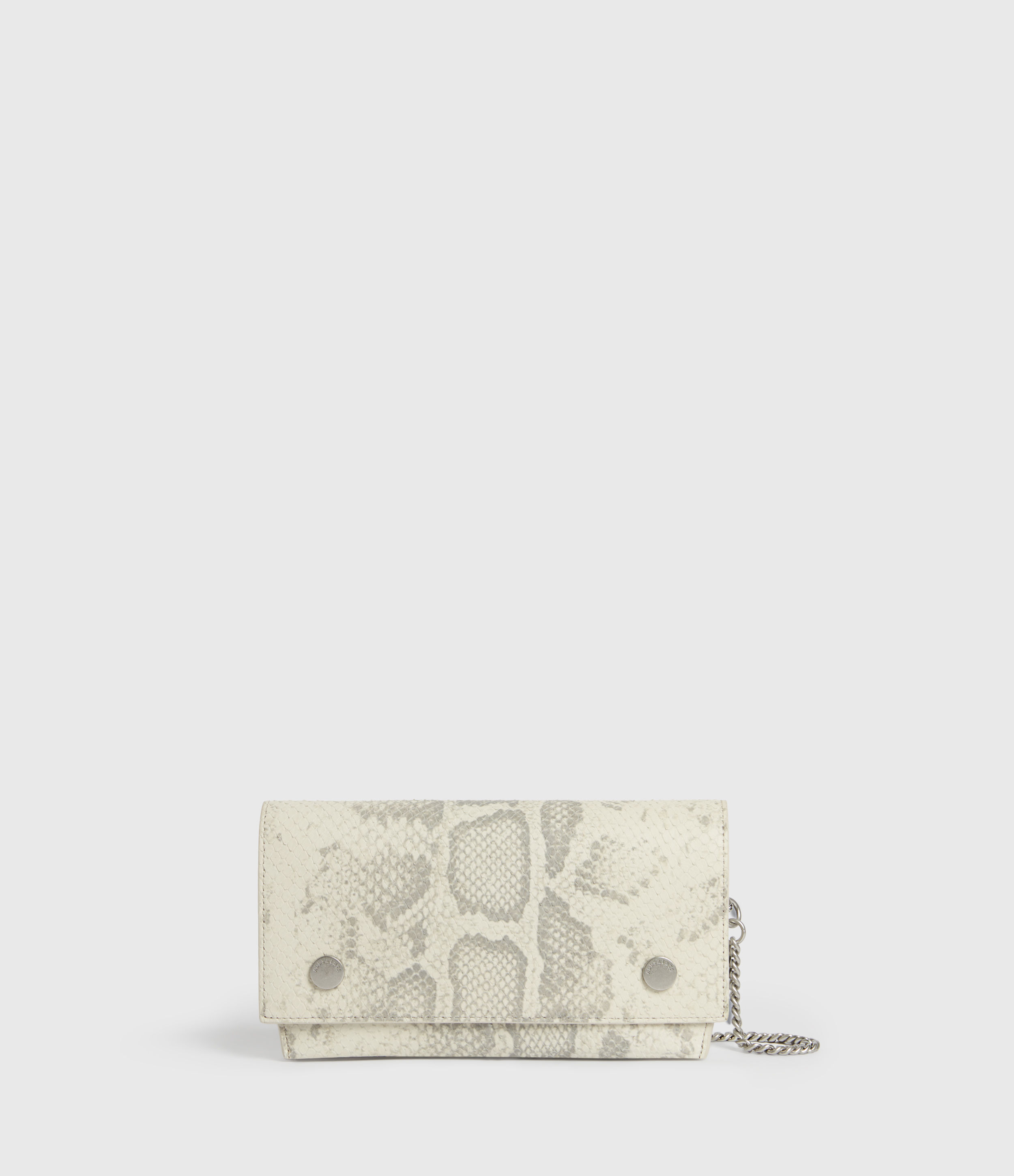 AllSaints Albert Leather Wallet