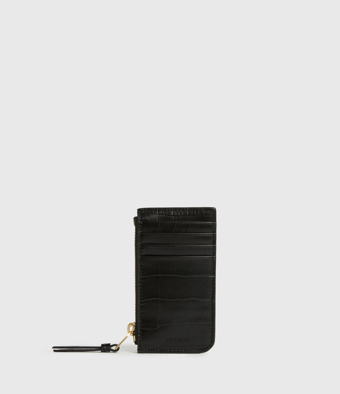 AllSaints Little Marlborough Leather Cardholder