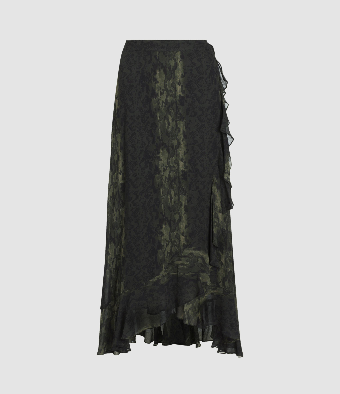 AllSaints Cosmo Masala Skirt