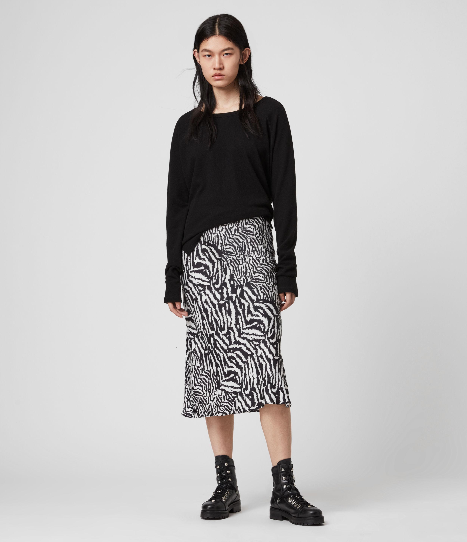 AllSaints Rayne Remix Skirt