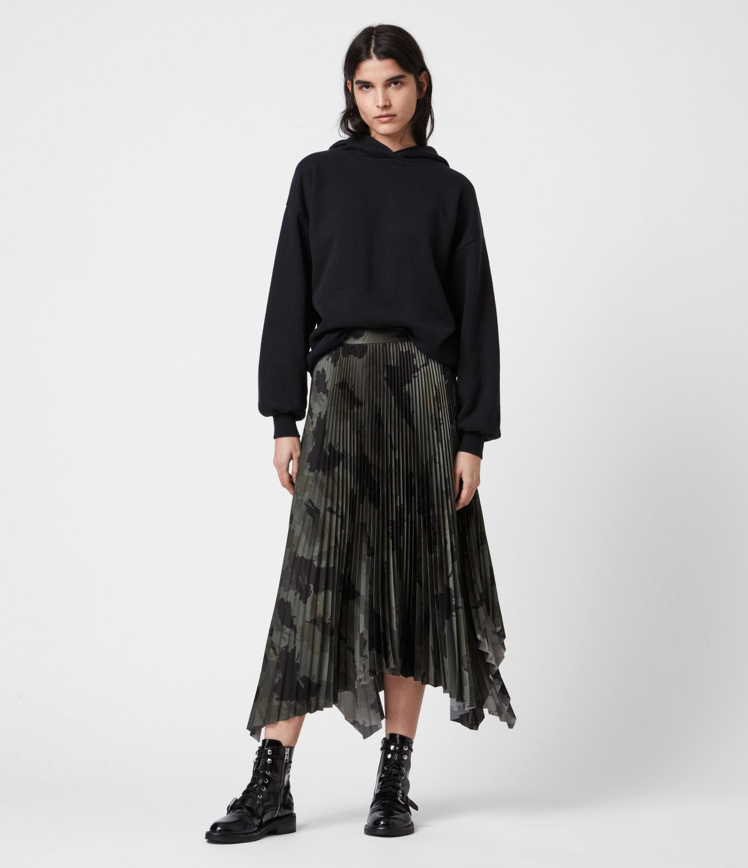 AllSaints Lerin Tranquil Skirt