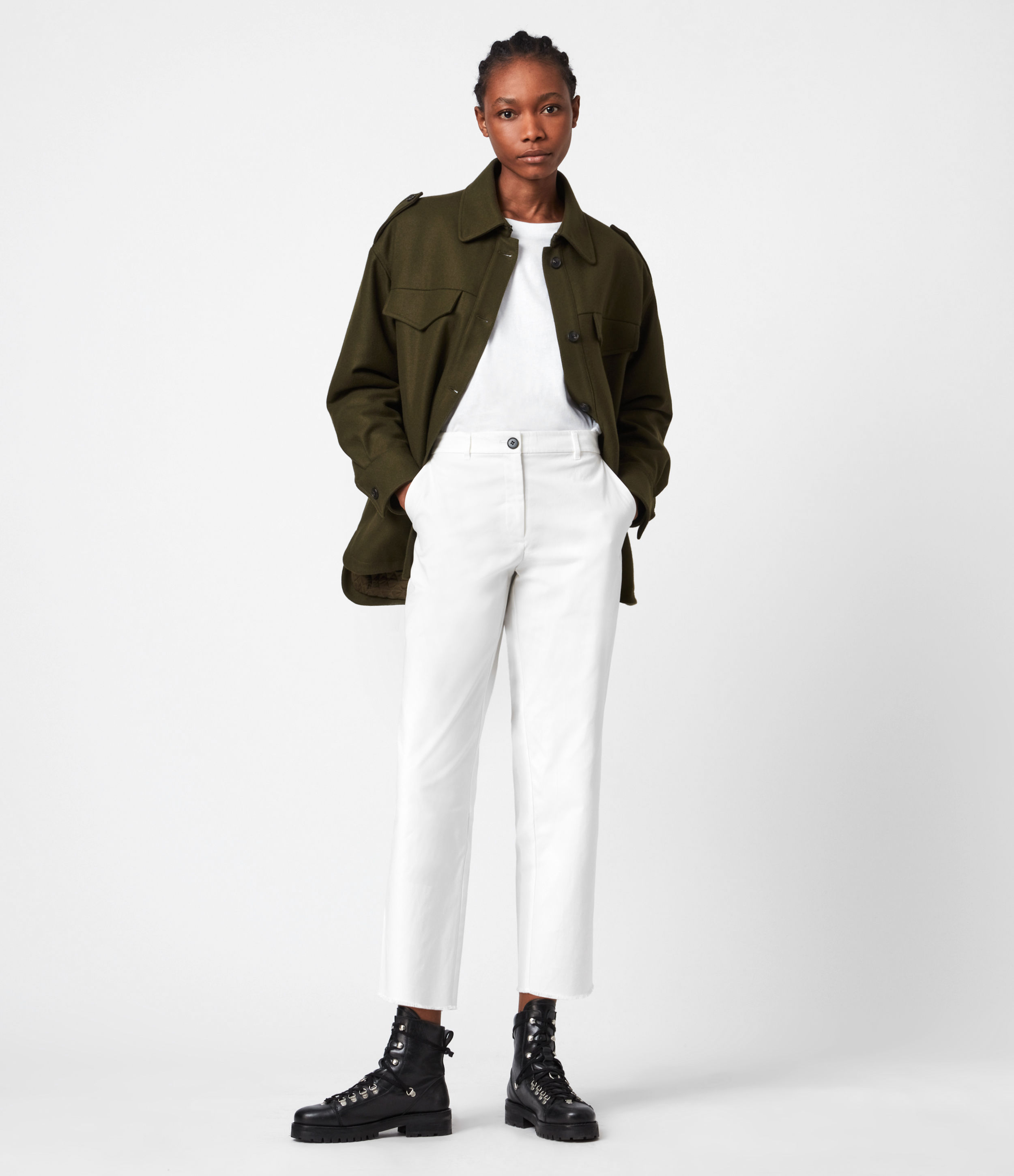AllSaints Emi High-Rise Trousers